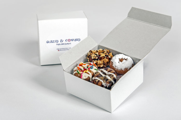 Glazed and confused mini donuts party giveaway