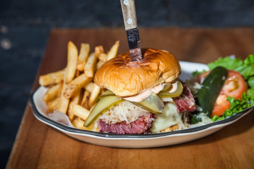 Black Tap Reuben Burger