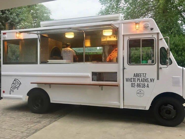 Fire Wood Pizza food truck