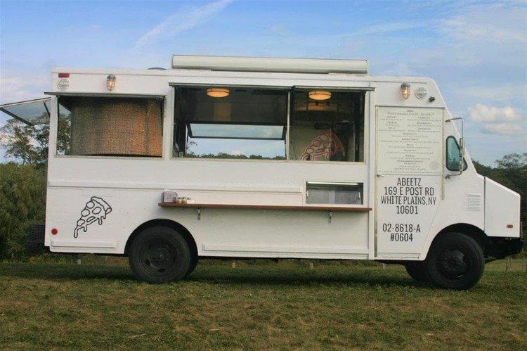White plains pizza food truck
