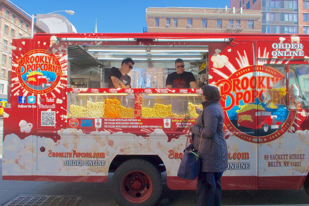 Brooklyn popcorn corporate catering