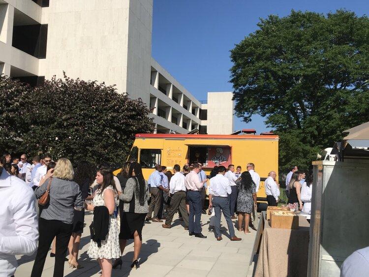 Nyfta Morgan Stanley Food Truck Catering
