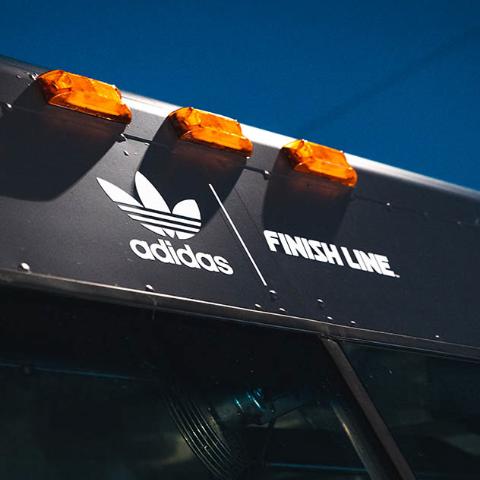 Adidas Nite Jogger Food Truck Promotion
