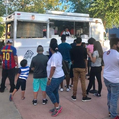 Rent a pizza food truck for your event or party