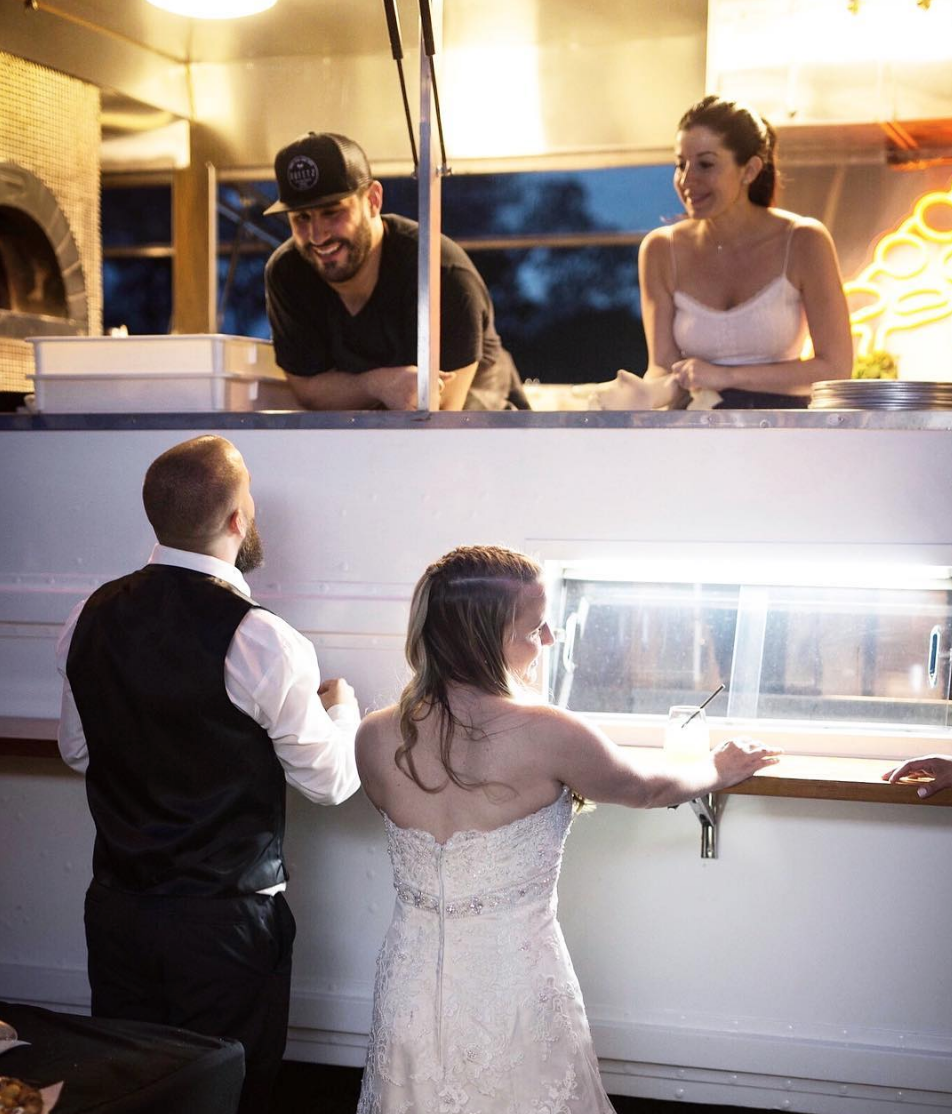 Pizza Truck Rental for Wedding