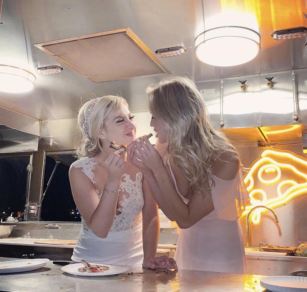Fun Wedding Catering Ideas Pizza Food Truck