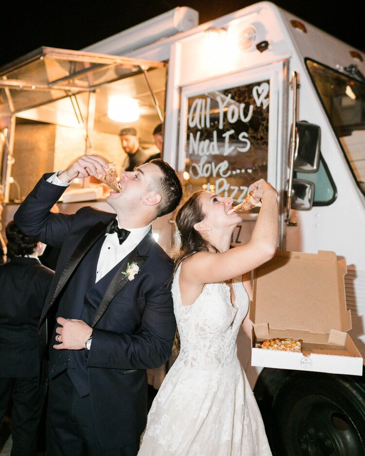 Abeetz Pizza Food Truck Wedding Catering