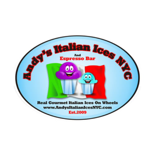 Andy's Italian Ices food truck logo