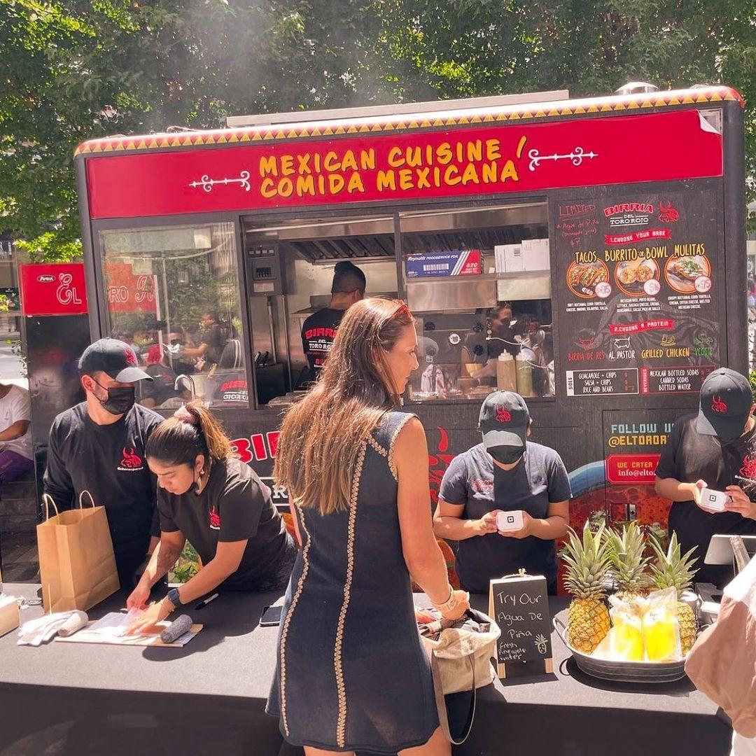Birria Tacos Food Cart NYC El Toro Rojo Event Catering