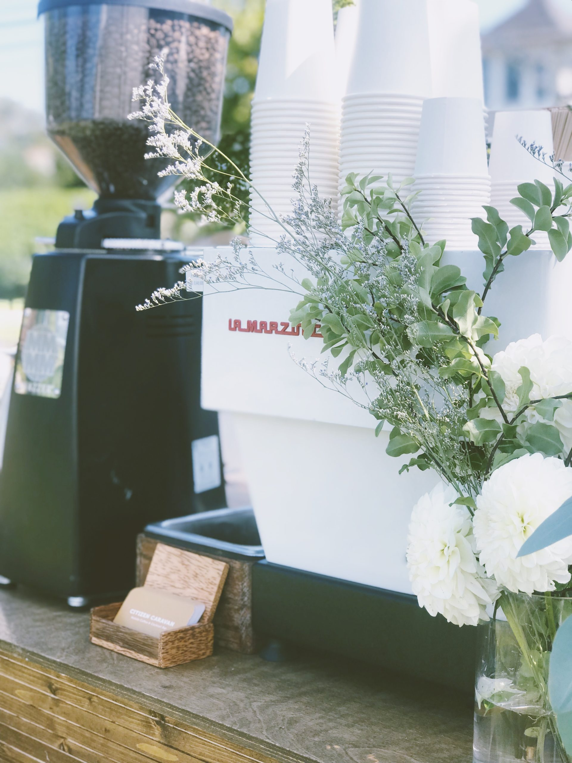 Espresso cart service New York