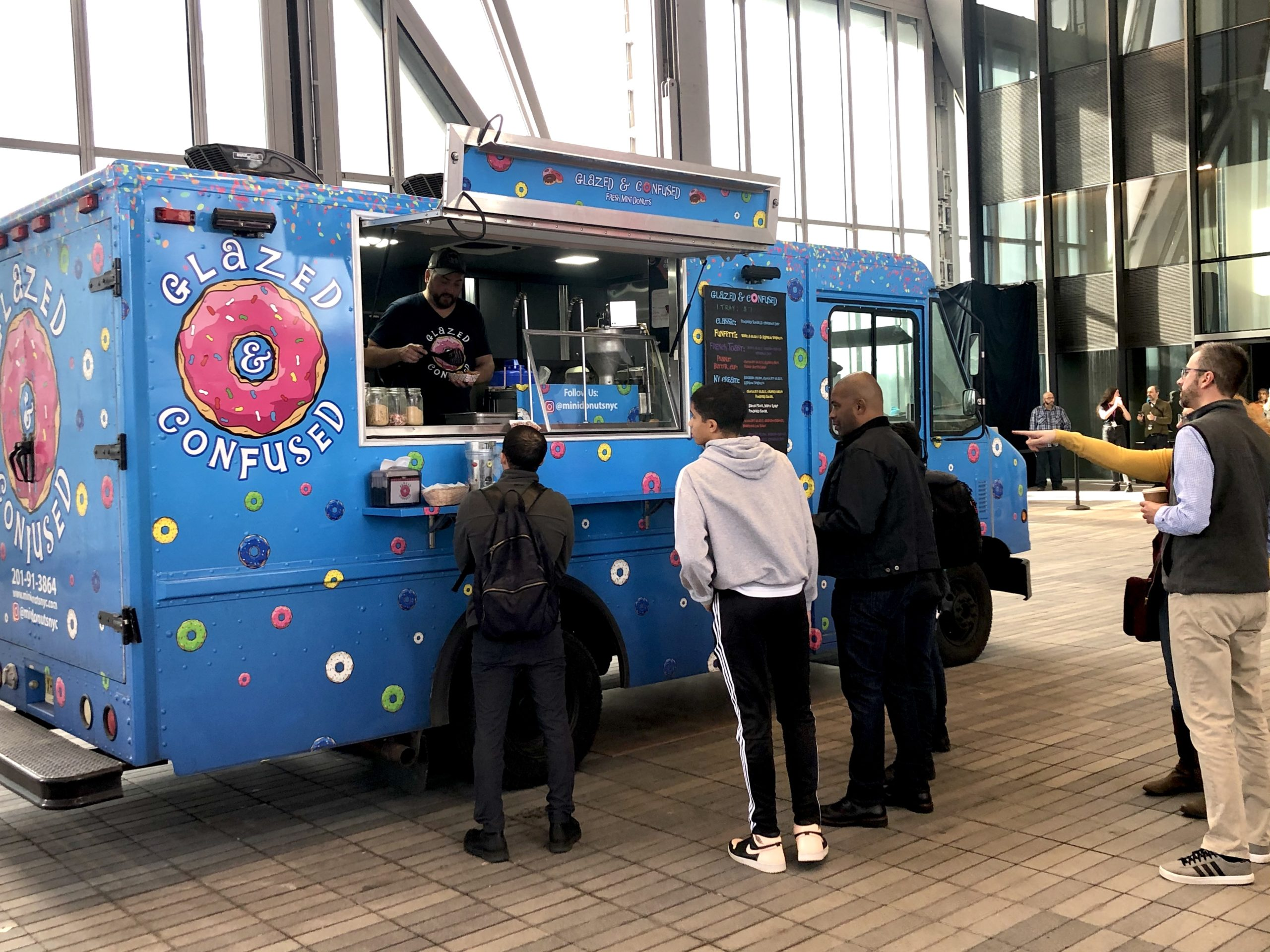 Rent a donut food truck in nyc