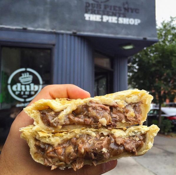 Dub Pies beef pie catering nyc