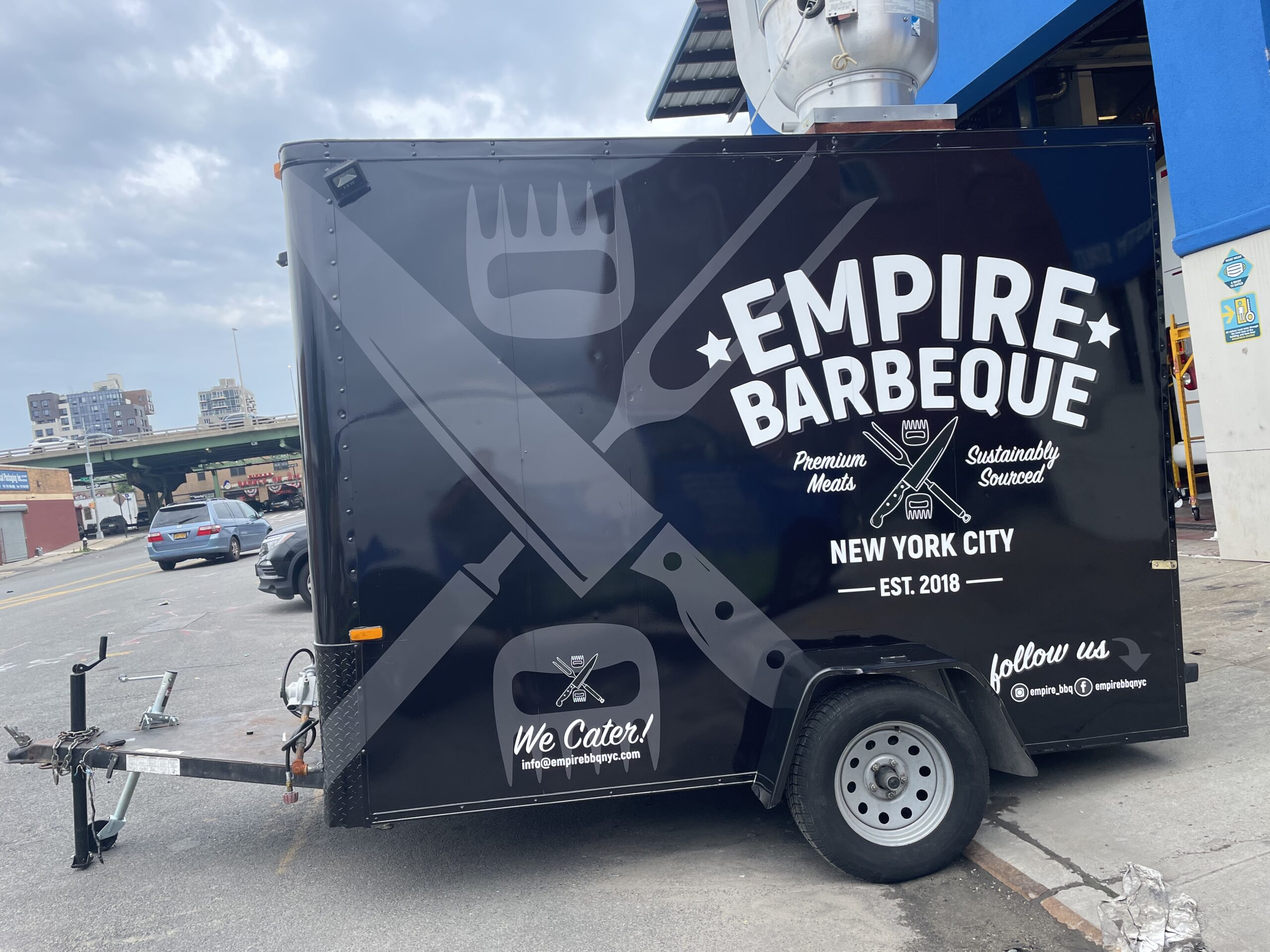Empire BBQ Food Truck Trailer NYC