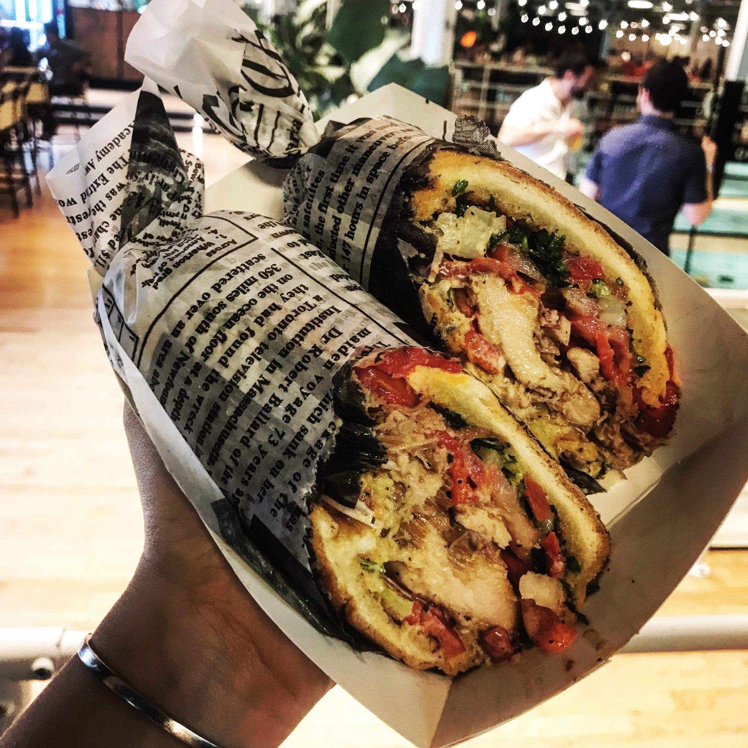 Meatoss chicken sandwich