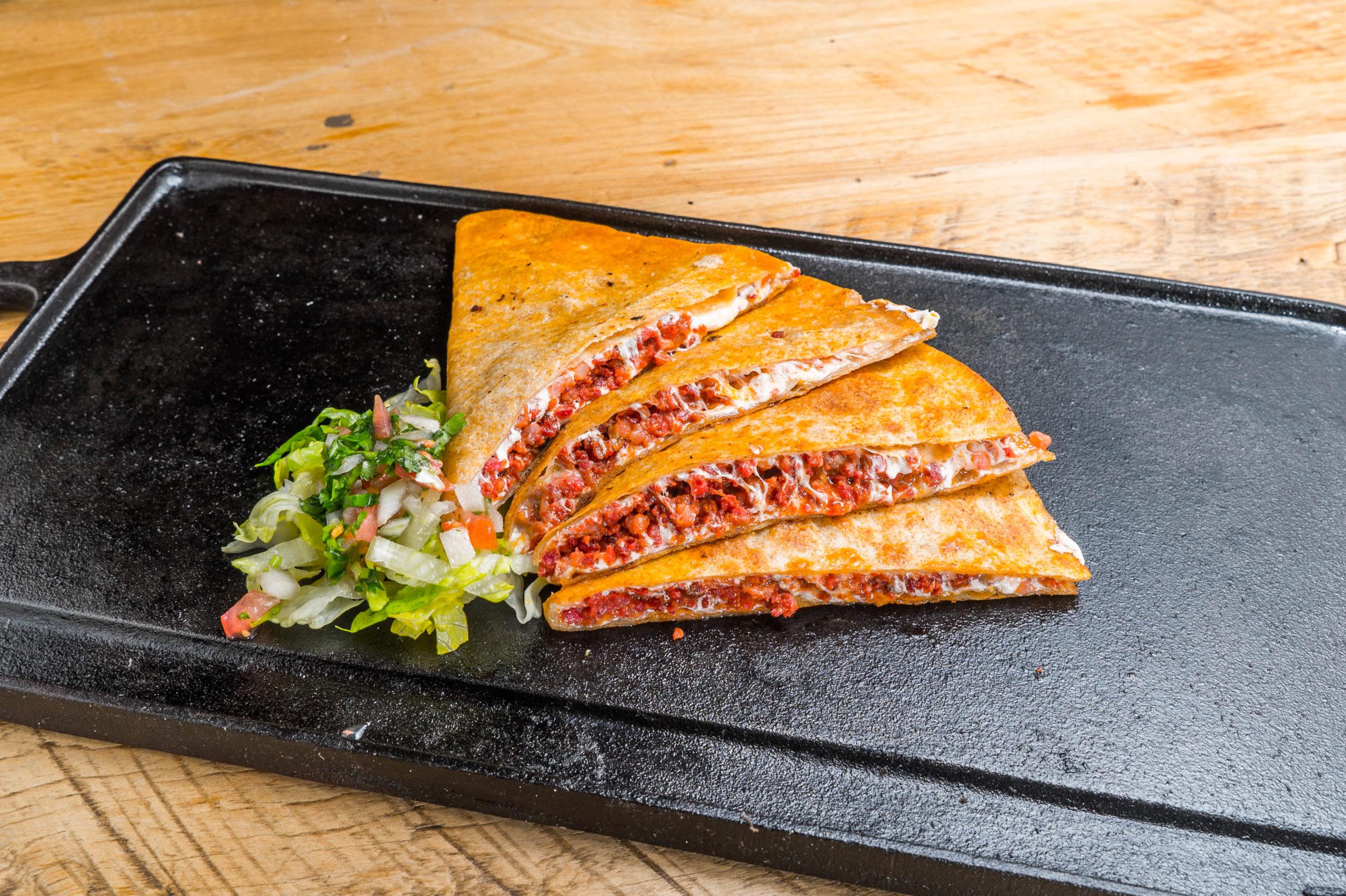 El Toro Rojo food truck Chorizo quesadilla