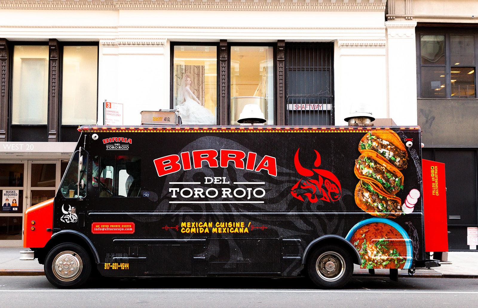 El Toro Rojo Food Truck