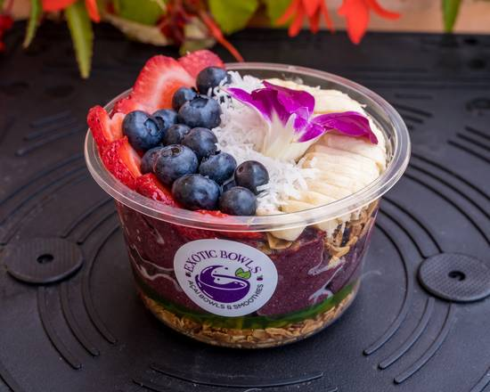 Acai bowl catering from Exotic Bowls NY