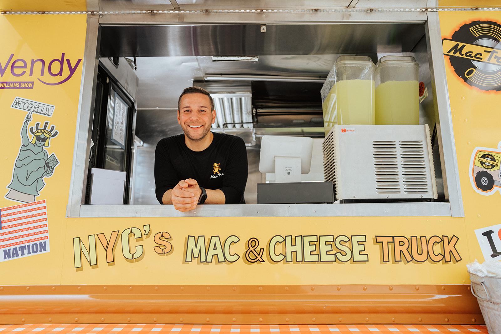 chef dom tesoriero mac truck nyc