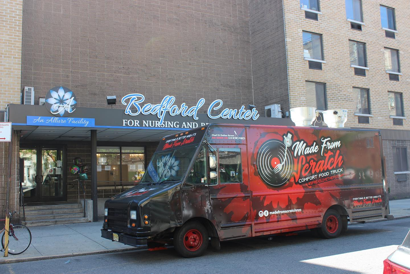 made from scratch food truck nyc catering