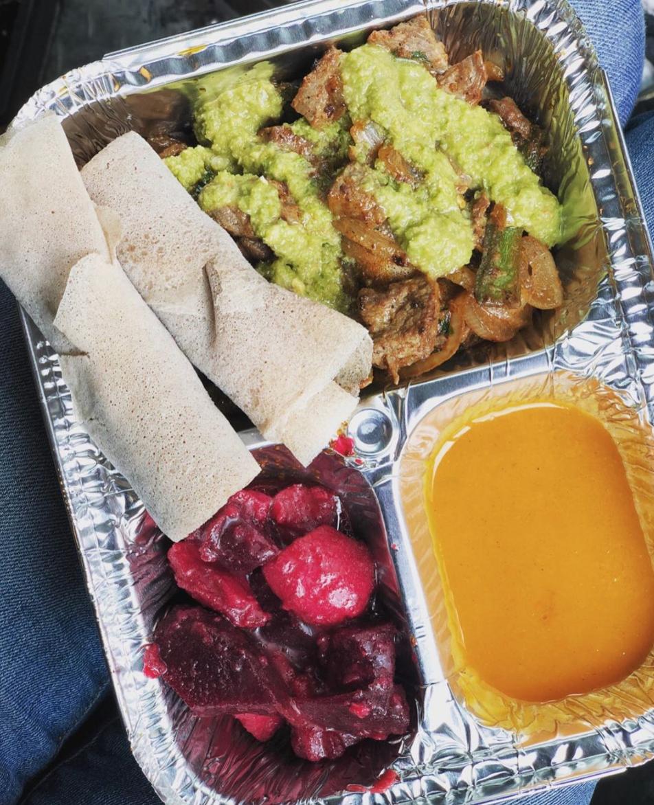 makina cafe ethiopian eritrean food