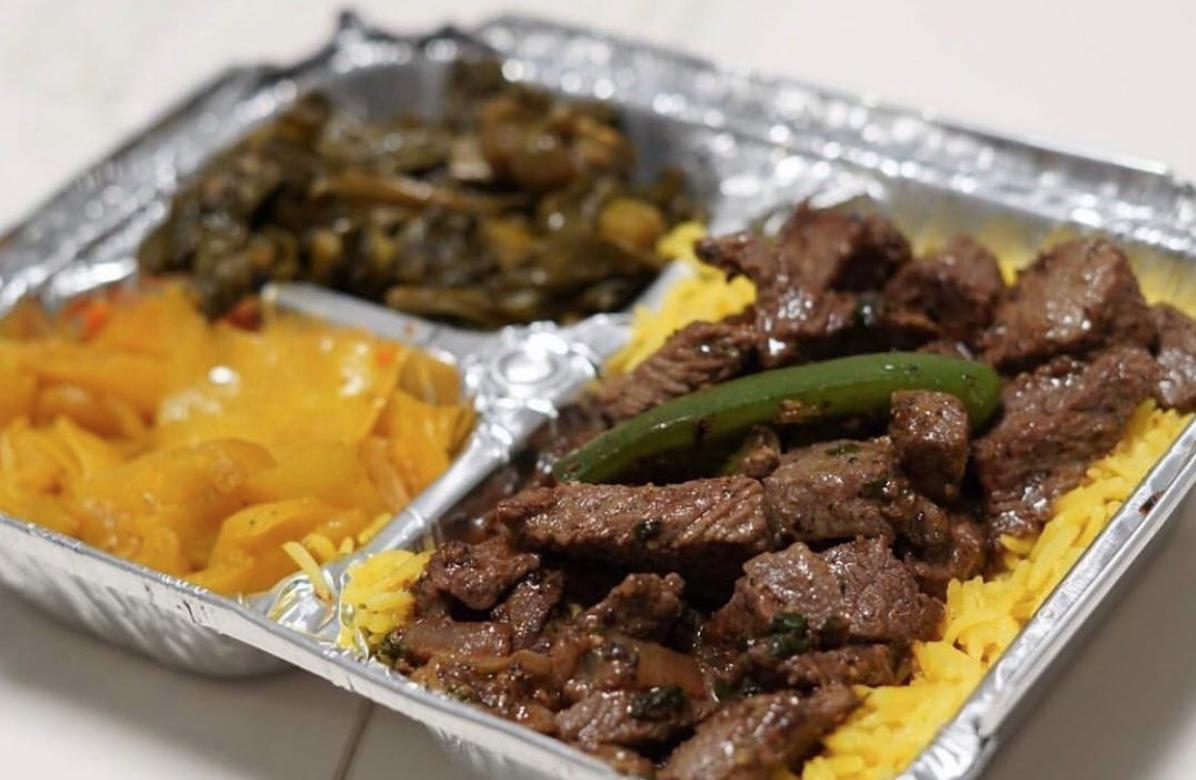 makina cafe food truck beef tibs