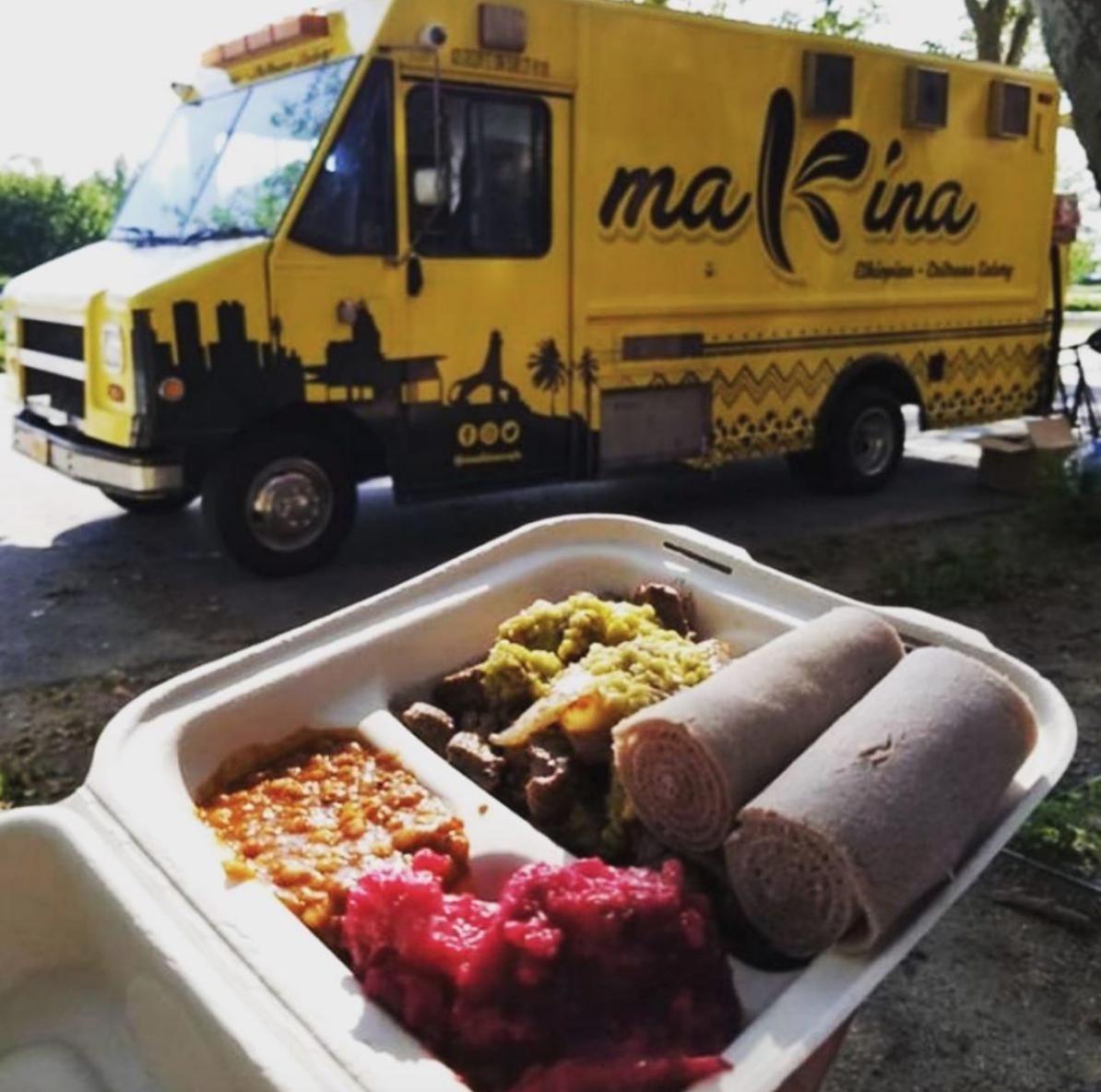 makina cafe food truck eritrean cuisine