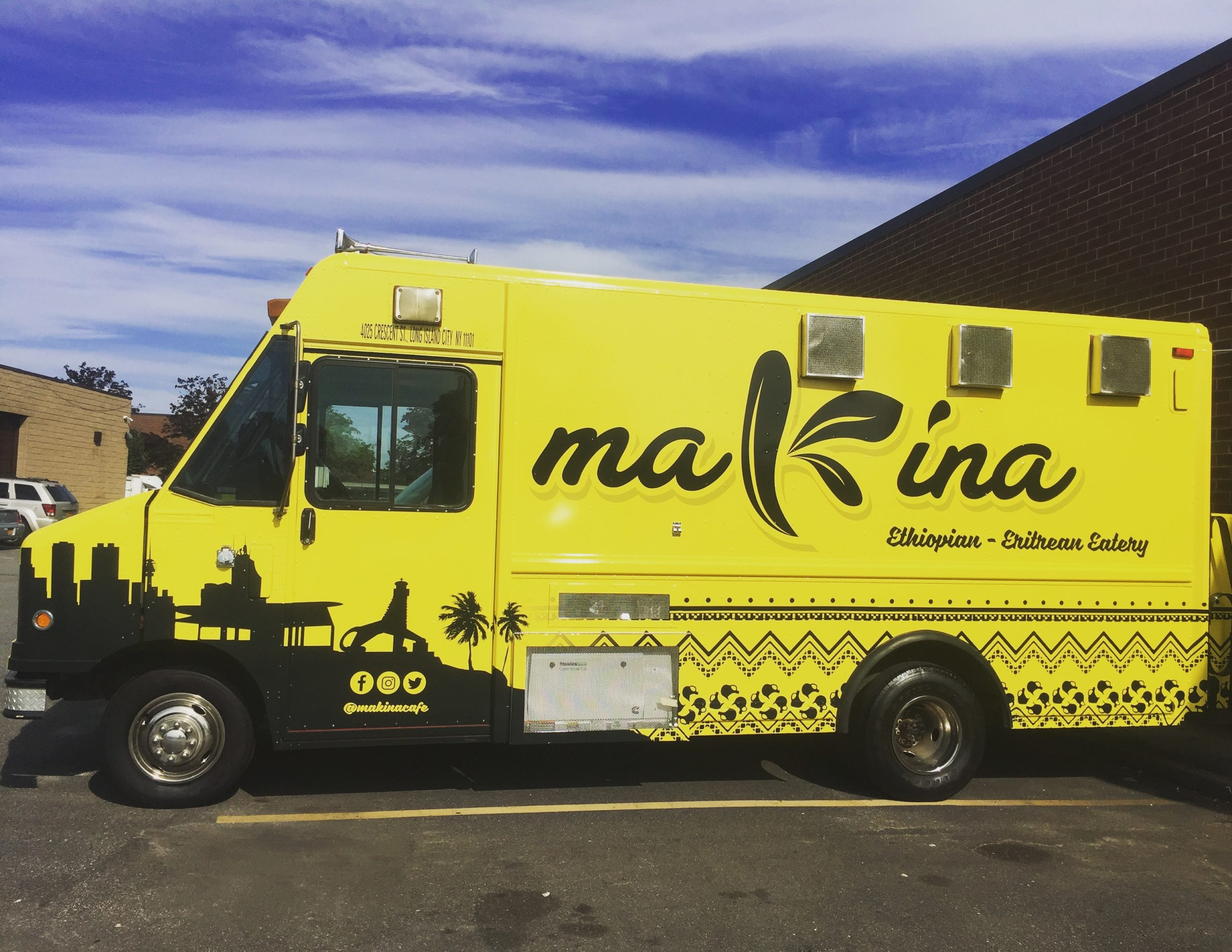 Makina Cafe Food Truck Ethiopian Catering NYC