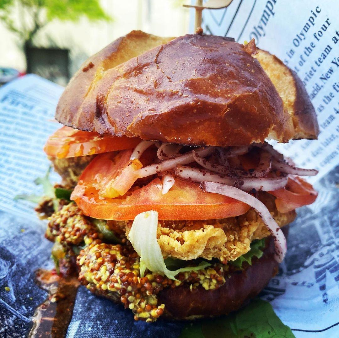 Meatoss Food Truck Chicken Sandwich