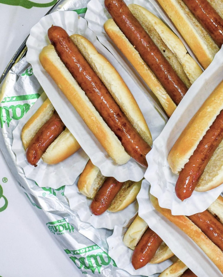 nathan's famous food cart hot dogs