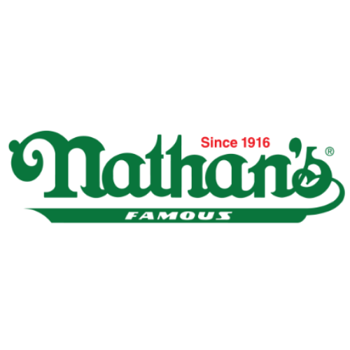 nathan's famous food cart logo
