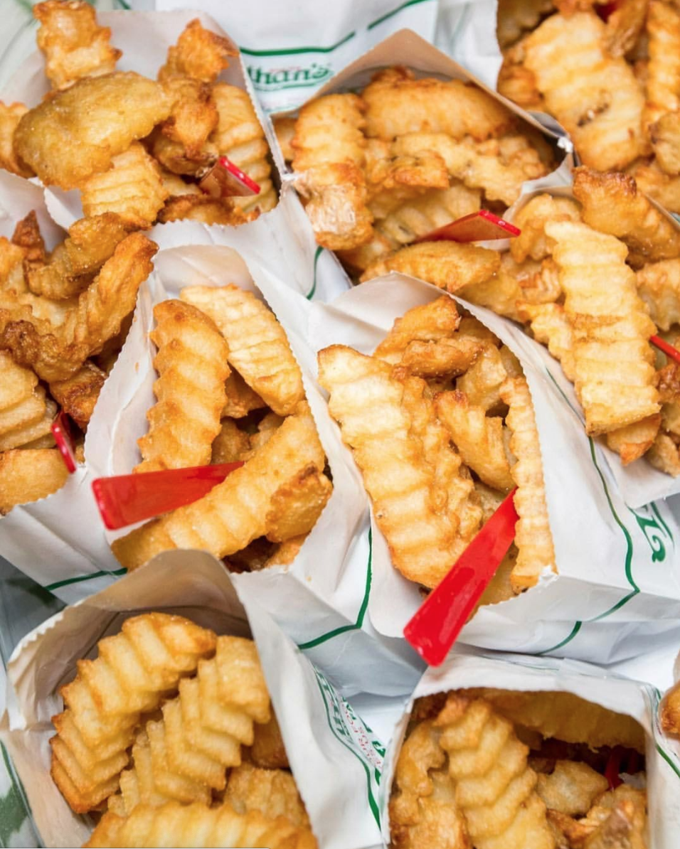 nathan's famous crinkle cut fries