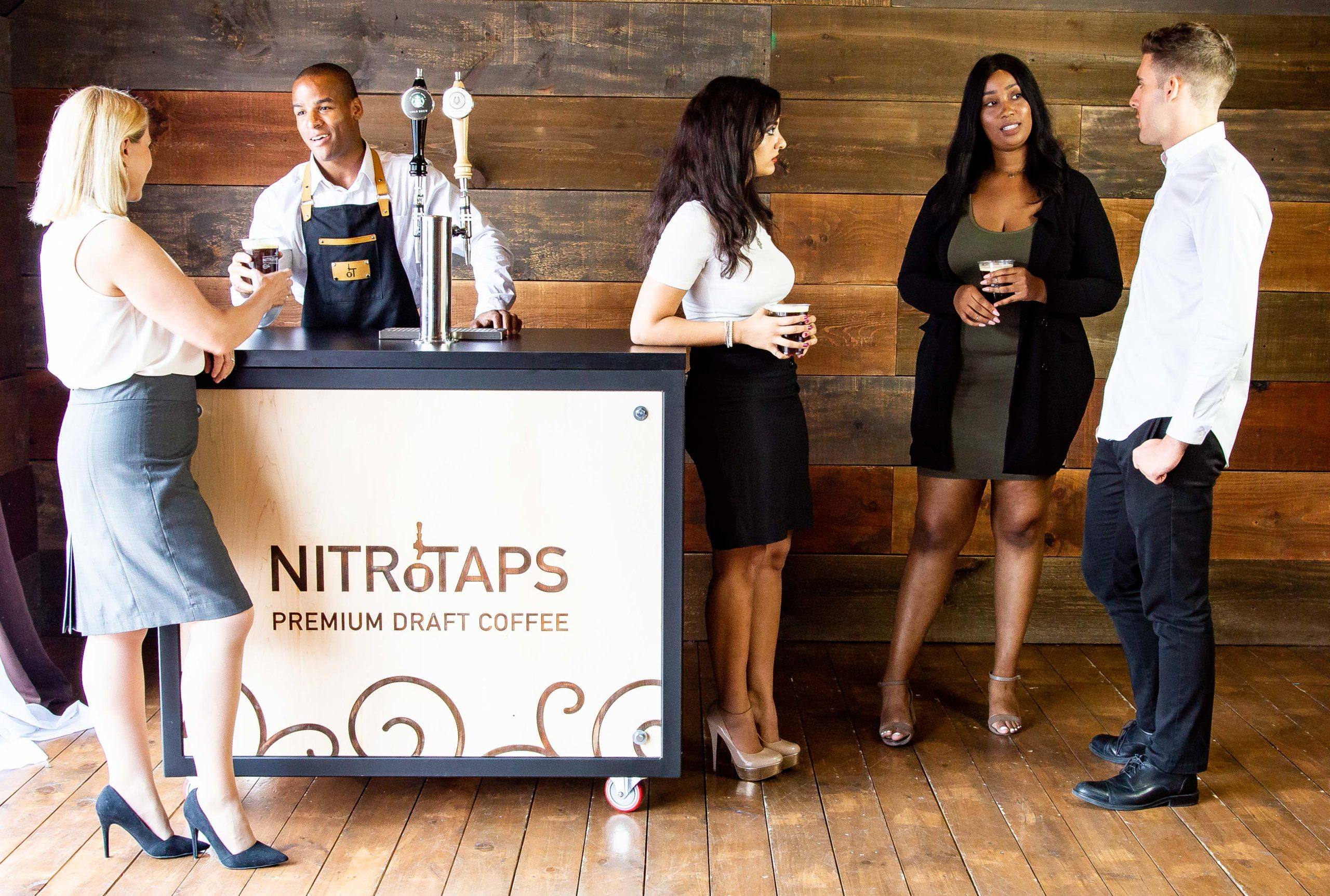 NitroTaps coffee bar for private event private event catering
