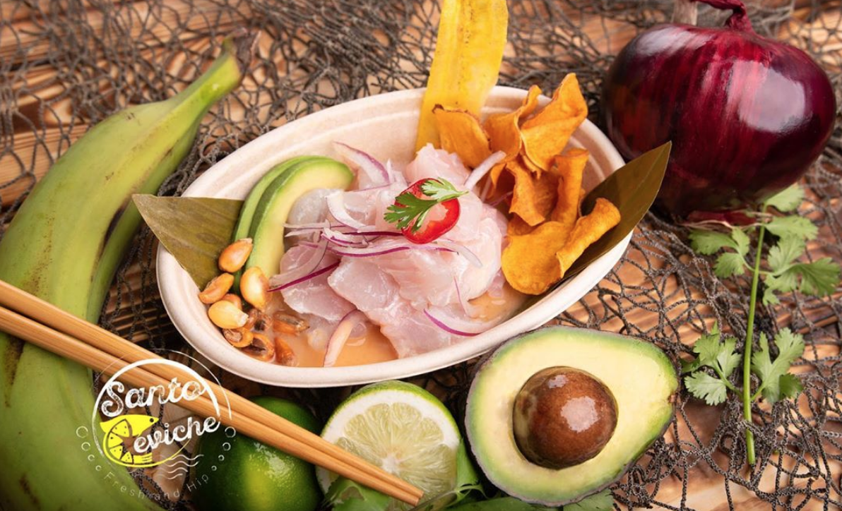 santo ceviche seafood food truck