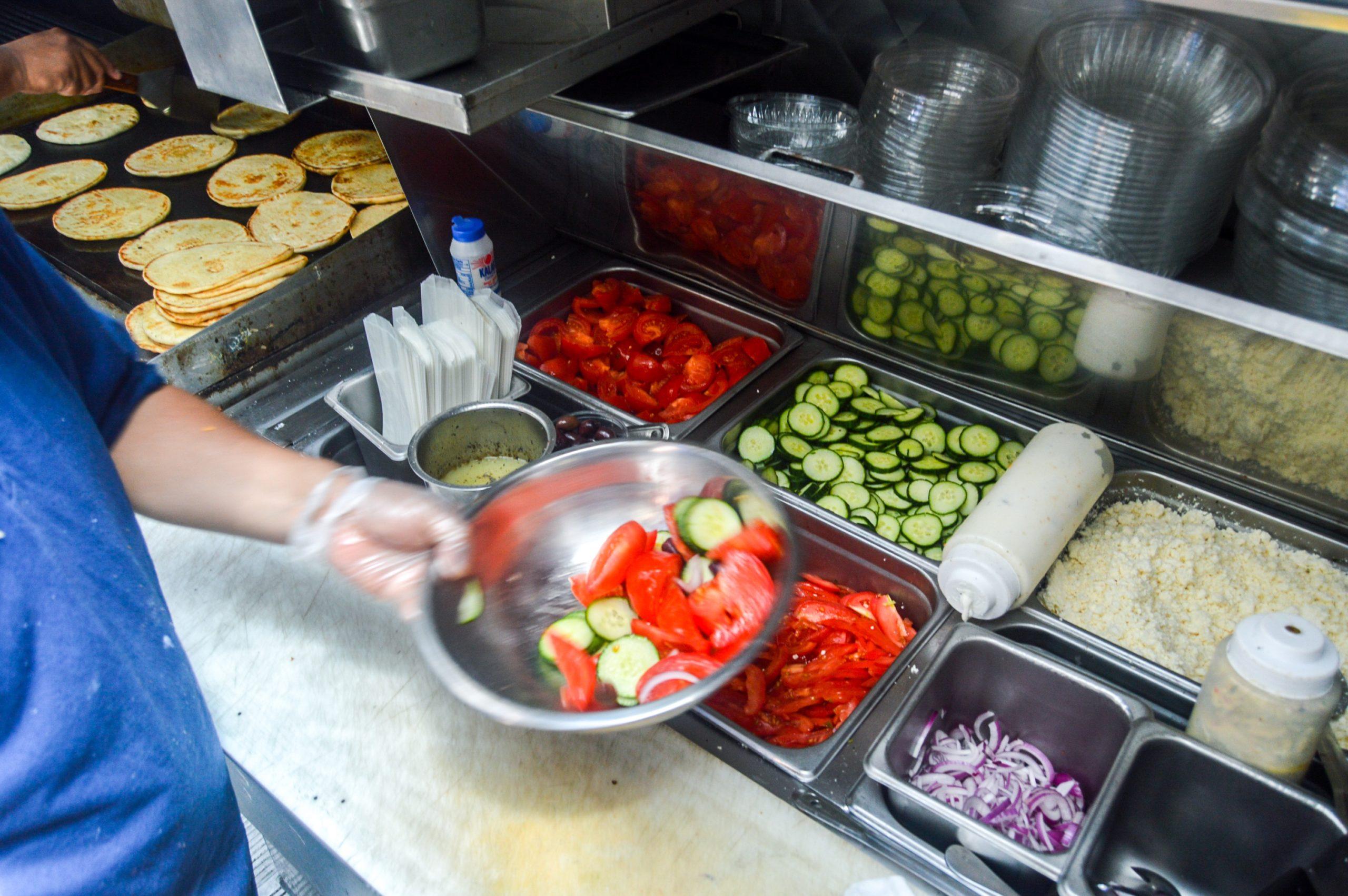 souvlaki gr food truck greek salad
