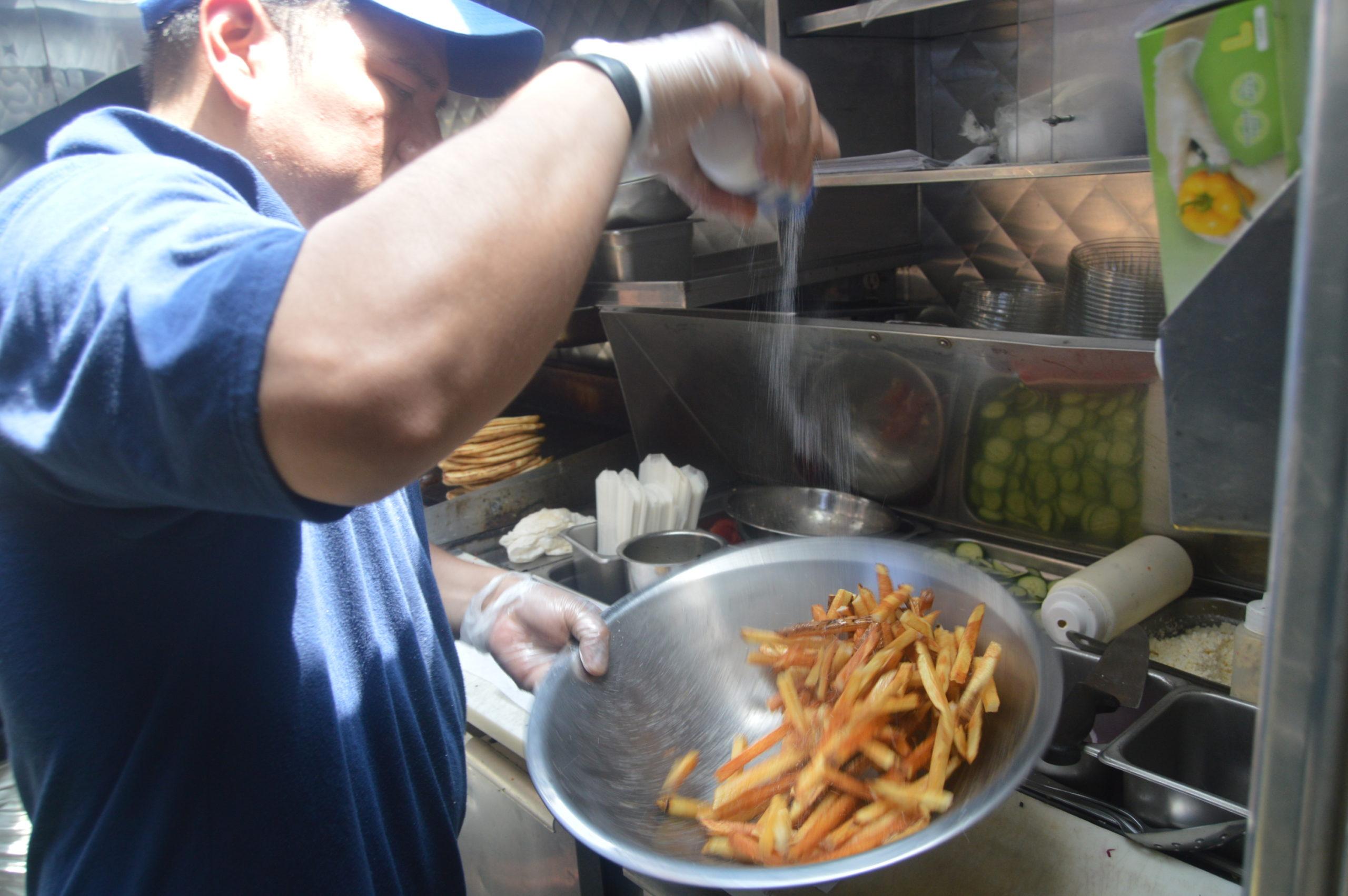 souvlaki gr food truck fries