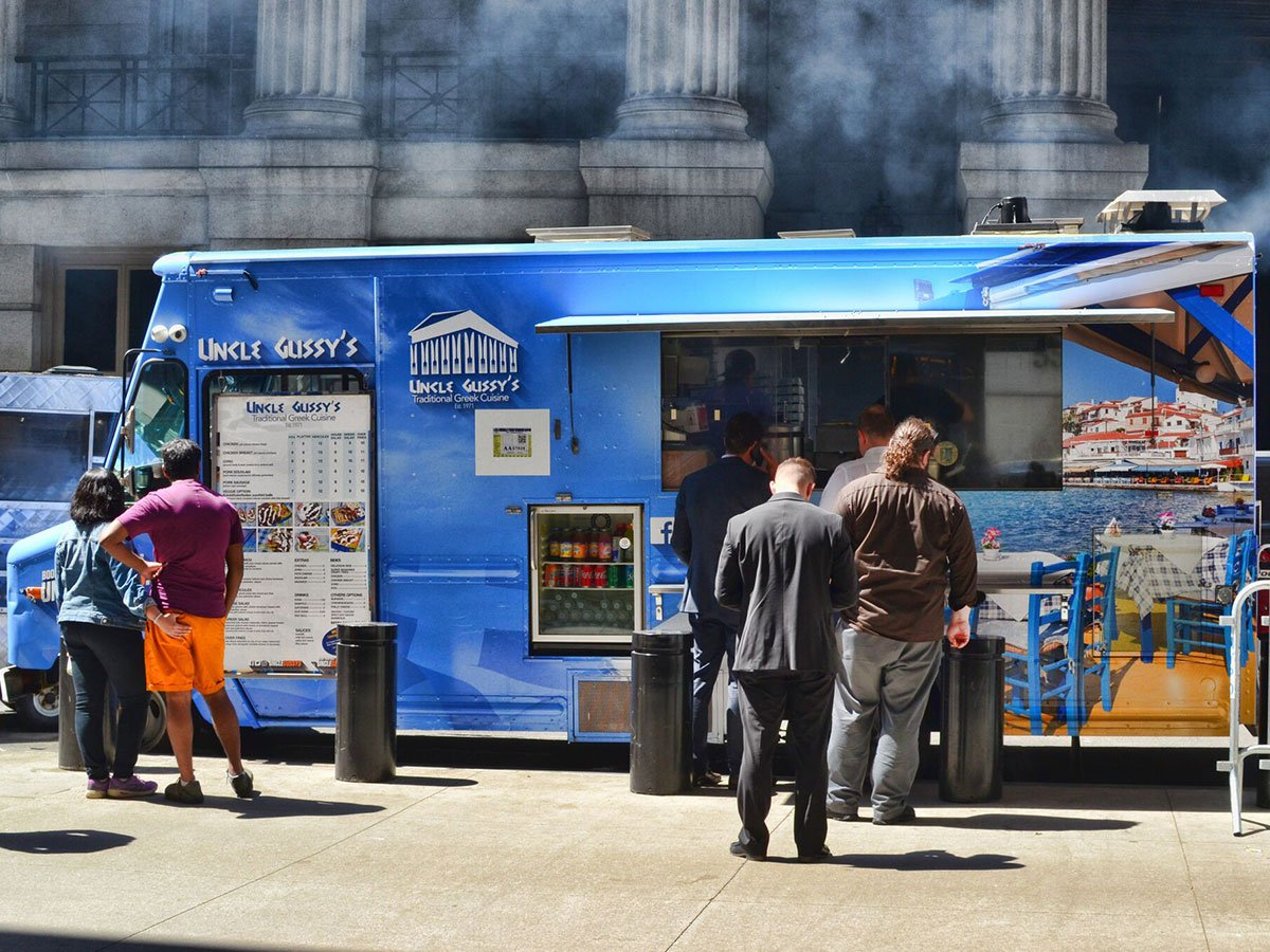 Uncle Gussy's Greek Food Truck Catering New York