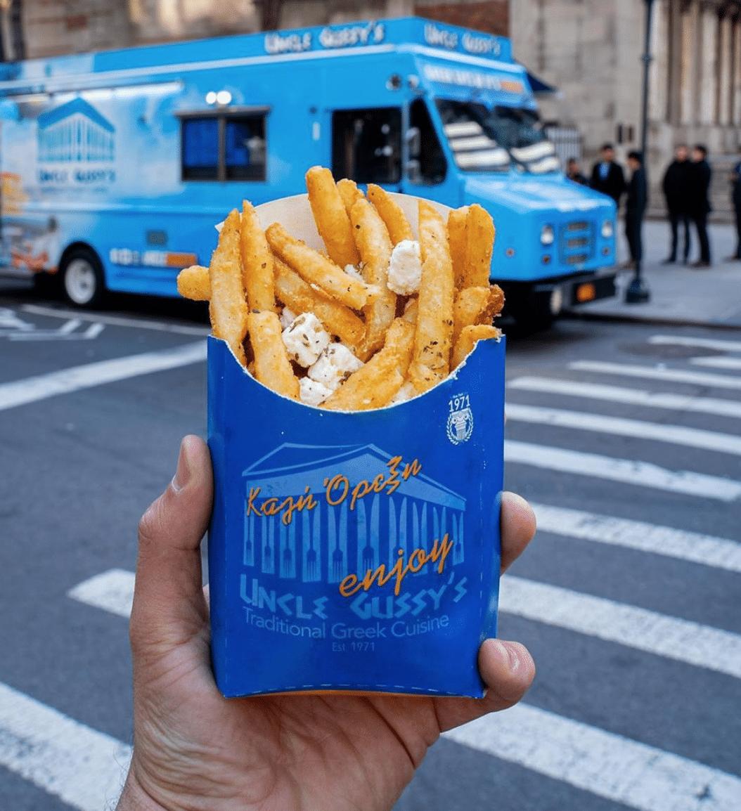 Uncle Gussys Greek Fries