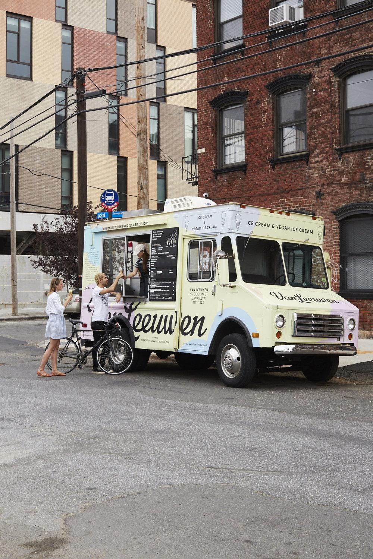 Rent Van Leeuwen Ice Cream Truck