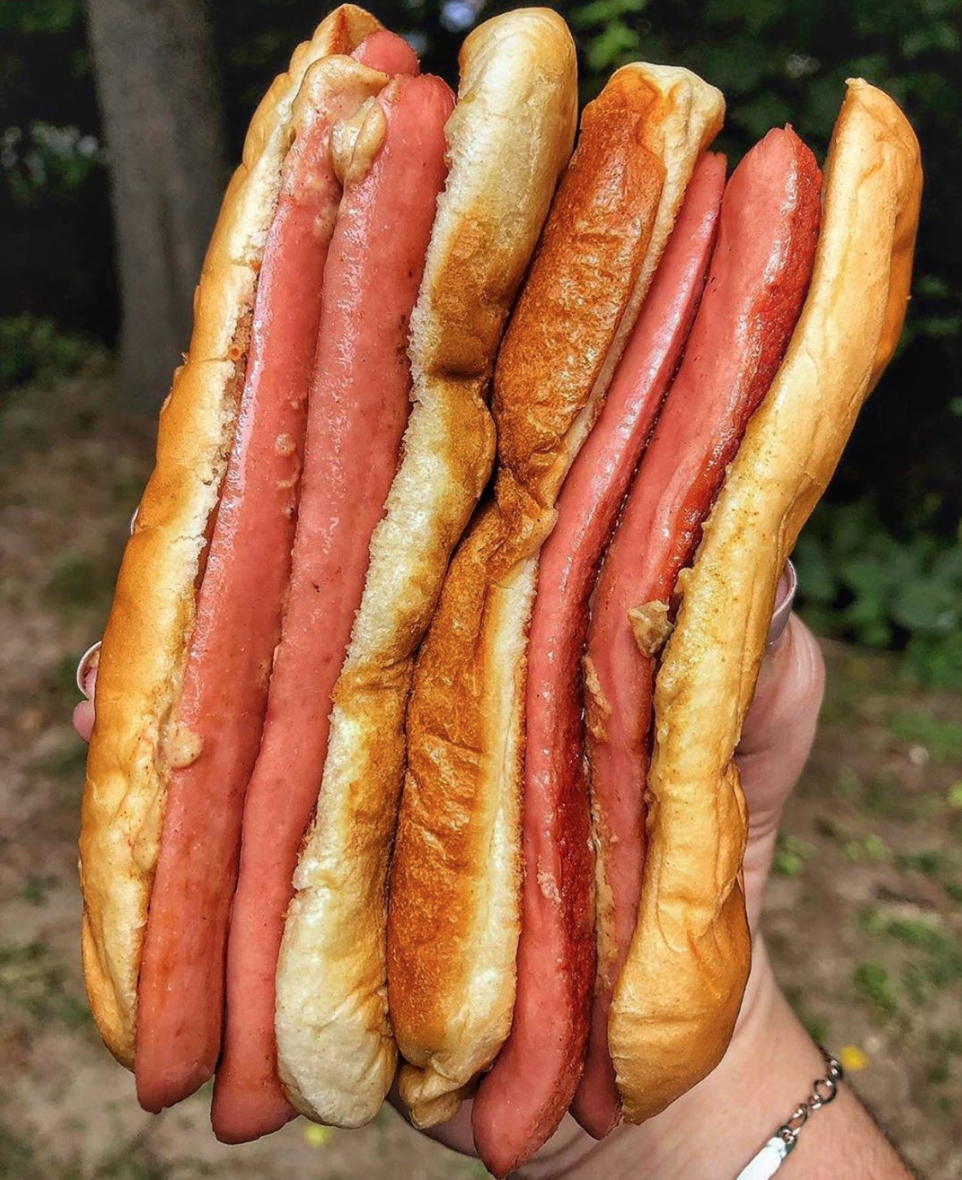 walters food truck double hot dog
