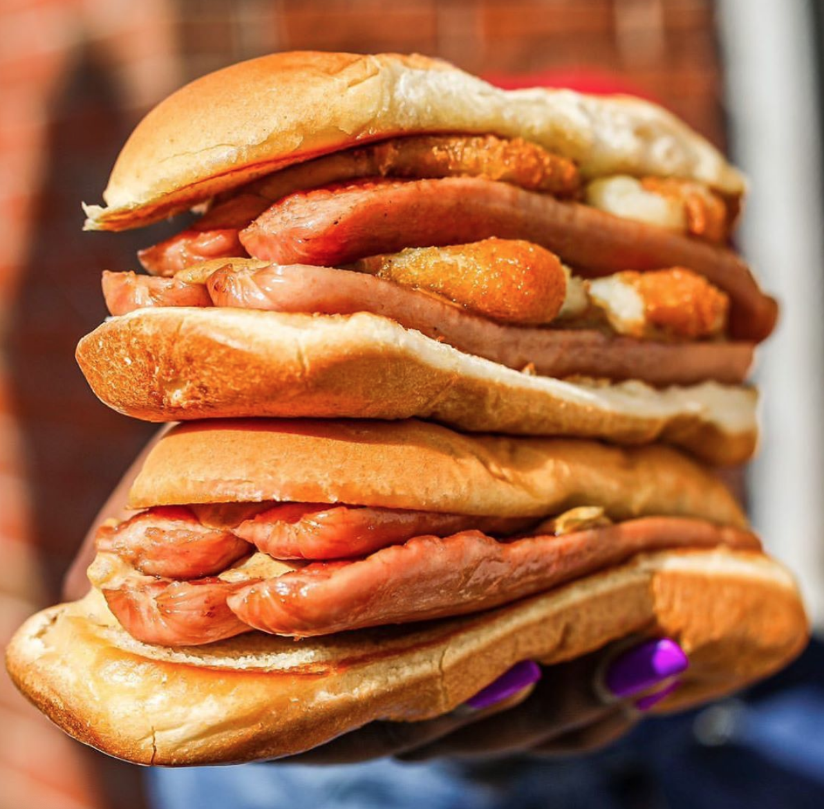 walters food truck double puffy dog