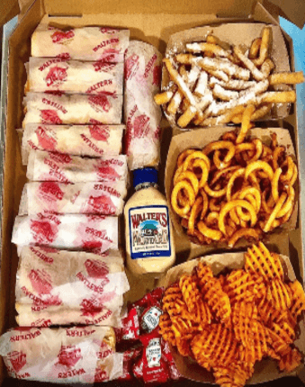 walters hot dogs and fries catering