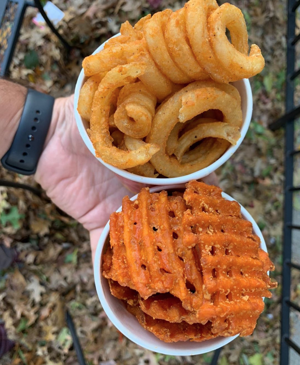 walters hot dogs food truck fries