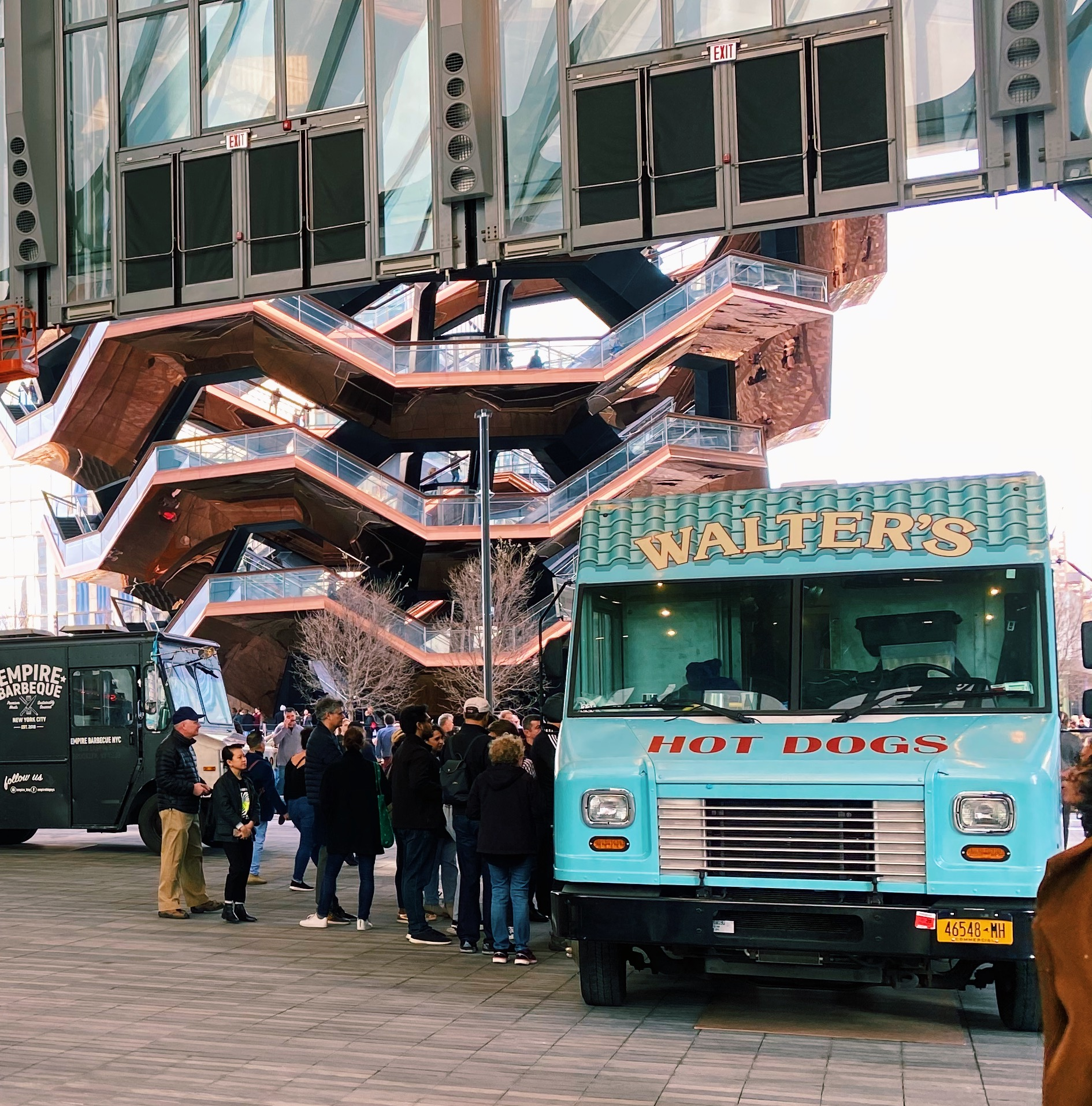 walters hot dogs hudson yards