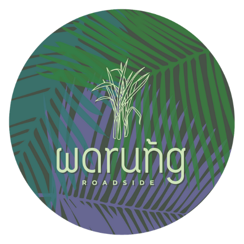 warung roadside thai food truck logo