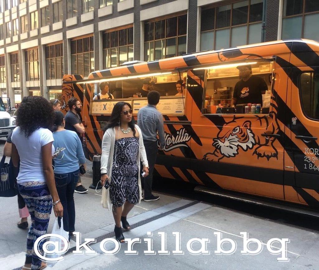 Korilla BBQ Van