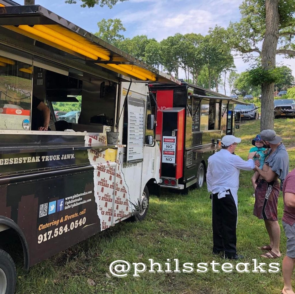 Phils steaks food truck