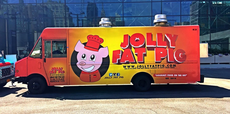 Jolly Fat Pig Food Truck