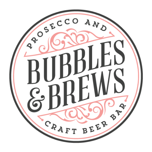bubbles and brews new york mobile bar catering logo