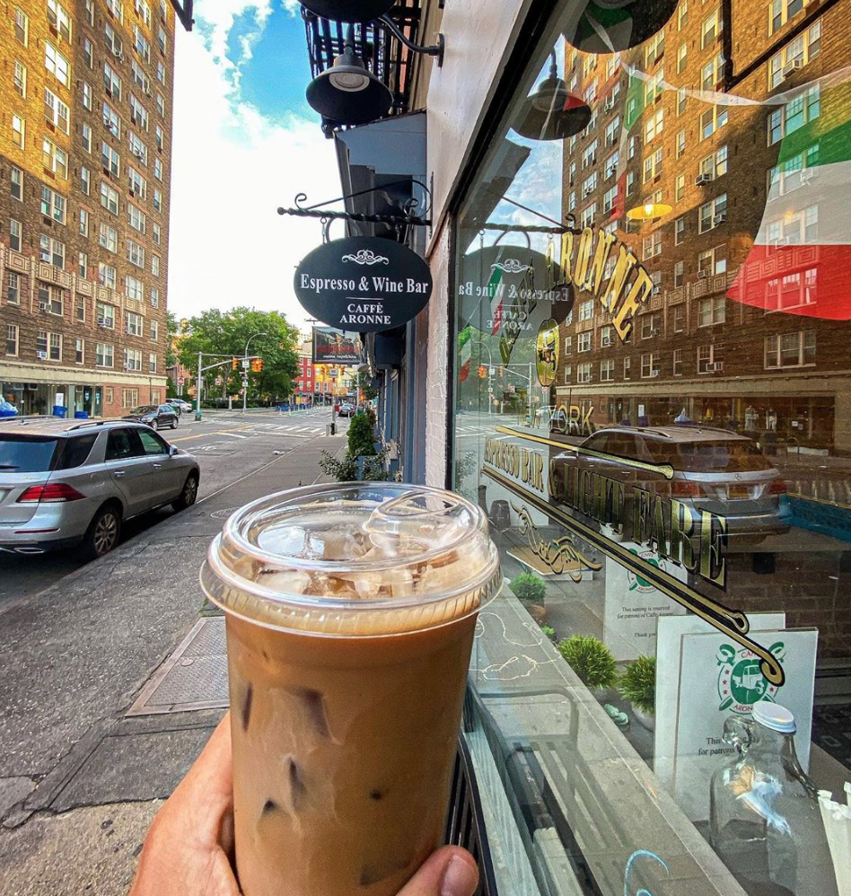 Caffe Aronne Iced Coffee