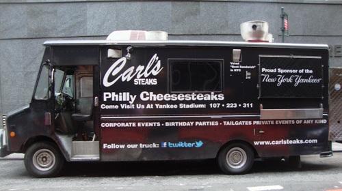 Carl's Steaks Food Truck